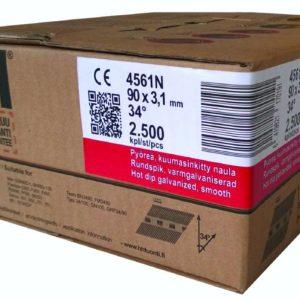 Konenaula 90 x 3.1mm KS sileä (2500/ltk)