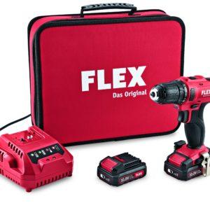 Akkuruuvain FLEX 10,8 V DD 10,8 LD setti