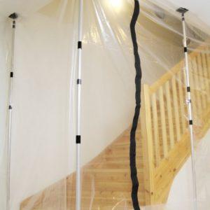 Seinätuki työmaatolppa 1400 - 3900 mm